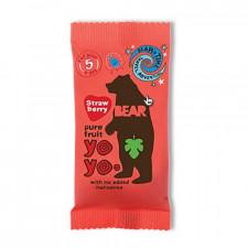 Bear Yoyo pure fruit jordbær (20 g)