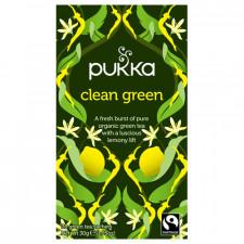 Pukka Clean Green Te Ø (20 breve)