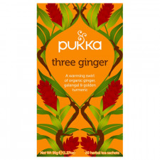 Pukka Three Ginger tea Ø 20 Breve.