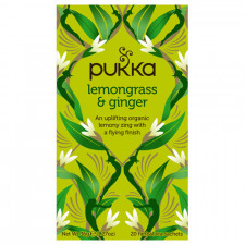 Pukka Lemongrass & Ginger Te Ø (20 breve)