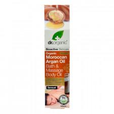 Dr. Organic Moroccan Argan Oil Bahth og Massage Body Oil (100 ml)