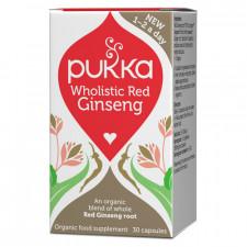 Pukka Rød Ginseng 800 mg Ø (30 kapsler)
