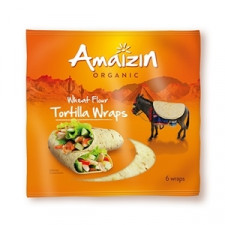 Tortilla Wraps økologiske fra Biogan - 6 stk.