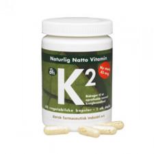 Naturlig Natto Vitamin K2 45 mcg (60 kap)