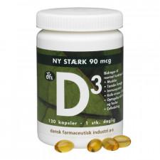D3-Vitamin 90 Mcg (120 kap)