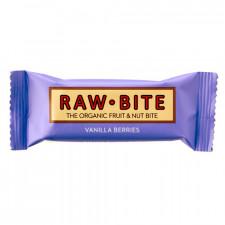 Rawbite Vanilla Berries Glutenfri Rawfoodbar Ø (50 gr)