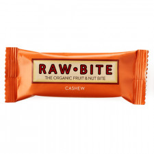 Rawbite Cashew Glutenfri Rawfood Bar Ø (50 gr)