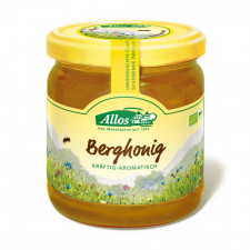Allos Honning Bjerg Ø (500 gr)