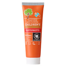 Urtekram Tandpasta Tuttifrutti U. Fluor (75 ml)