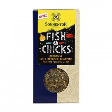 Sonnentor Fish & Chicks m. Sort Peber & Citron Ø (55 g)