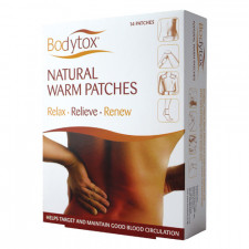 Bodytox Natural Warm Patches (14 stk)