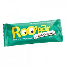 Roobar Chia Kokosnød 100% Raw (30 gr)