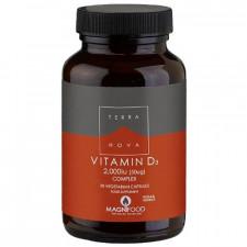 Terranova D3 vitamin (50 kap)