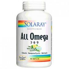Solaray All Omega 3-6-9 (90 kapsler)