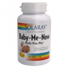 Solaray Baby-Me-Now Multi-Vitamin (90 tabletter)
