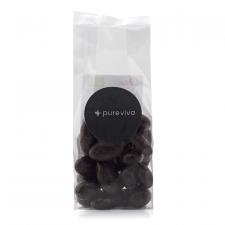 Pureviva mandler m. mørk chokolade Ø (90 g)