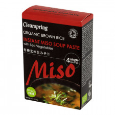 Miso Soup Paste (4 x 15 gr.) Ø 60 gr.