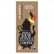 Clipper New Guinea Fairtrade Kaffe Papua malet Ø (227g)