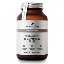Wild Nutrition Food-Grown B Complex Plus (60 kaps)
