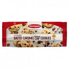 Sember Cookies m. Saltet Karamel & Chokolade Glutenfri