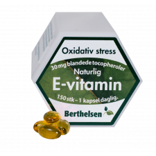 E-vitamin Berthelsen 150 Kap