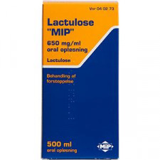Lactulose Oral Opløsning 650 MG/ML (500 ml)