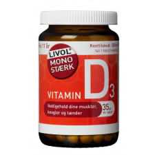 Livol Vitamin D 35 mcg  (200 tabletter)