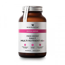 Wild Nutrition Food-Grown Daily Multi Nutrient - Kvinde 45+ (90 kaps)