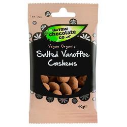 Nature Source Salted Vanoffe Cashews m. Rå Chokolade Ø (40 g)