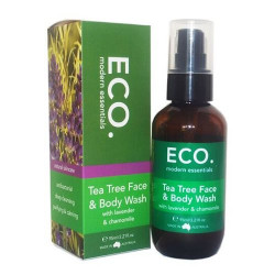ECO. Tea Tree Face & Body Wash (95 ml)