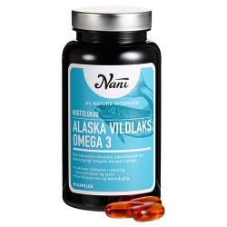 Nani Food State Omega 3 Alaska Vildlaks (90 kapsler)