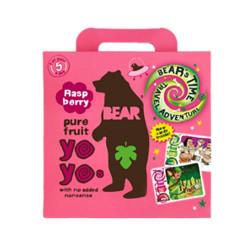 Bear Yoyo hindbær multipak (5x20 g)