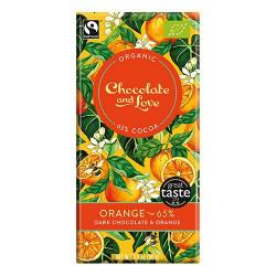 Chocolate and Love Chokolade Orange 65% Ø (80g)