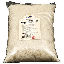 Rømer Ris Hvide Basmati Ø (1 kg)