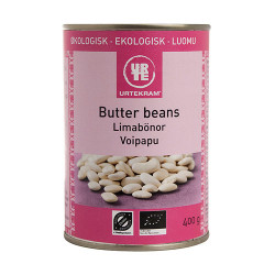 Urtekram Butter Beans Ø (400 gr)