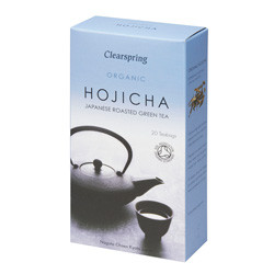 Clearspring Organic Japanese Roasted Green Tea Hojicha Te Ø (20 breve)