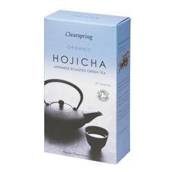 Clearspring Organic Japanese Roasted Green Tea Hojicha Te Ø (20 breve)