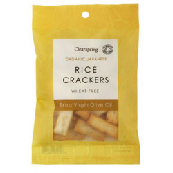 Naturesource Rice Cracker Olivenolie og Salt Ø (50 gr)