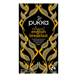 Pukka Elegant English Breakfast Te Ø (20 breve)