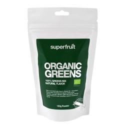 Superfruit Organic Greens Pulver Ø (100 gr)