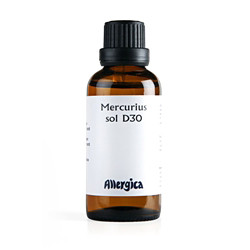 Mercurius sol. D30 (50 ml)