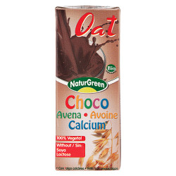 NaturGreen Cacao Havredrik m. Calcium Ø (200 ml)