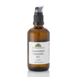 Urtegaarden Granatæble/Lavendel Kropsolie Ø (100 ml)