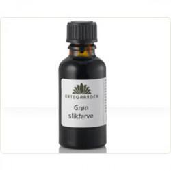 Urtegaarden Grøn Slikfarve (10 ml)