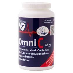 Biosym Omni C 500 mg C vitamin (180 tabletter)