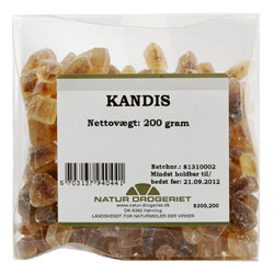 Natur Drogeriet Kandis (200 gr)