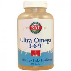 KAL Ultra Omega 3-6-9 (100 kapsler)