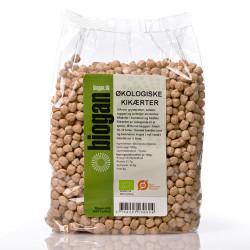 Biogan Kikærter Ø (1 kg)