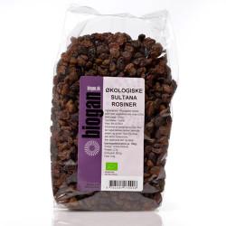 Biogan Rosiner Mørke Ø (1 kg)