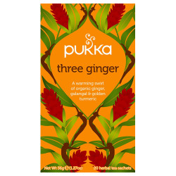 Pukka Three Ginger Te Ø (20 breve)